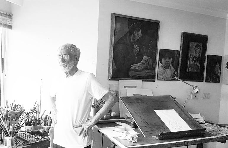 anibal-gil-pintor-artista-maestro-medellin-colombia-taller-balncoynegro